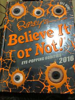 Ripley's Believe It or Not 2016 ( hard bound, big)