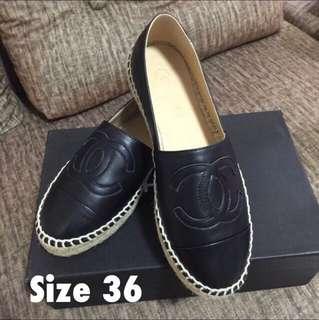 Chanel Espadrilles Size 36