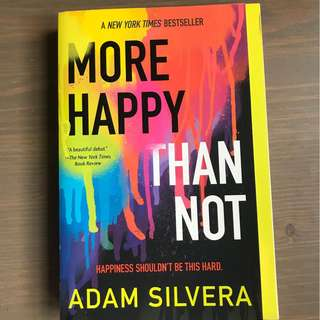 [Paperback] More Happy than Not by Adam Silvera