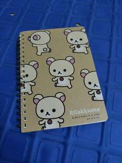 🚚 拉拉熊圈線筆記本