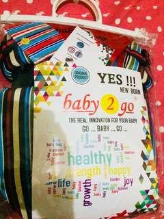 Gendongan Bayi merek Baby 2 Go