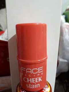 Face recipe cheek stain