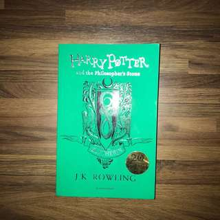 Harry Potter Anniversary Edition Novel - Slytherin