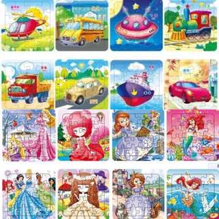 Goodie bags puzzles