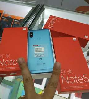 Xiaomi redmi note 5 6/64 black bisa kredit tanpa kartu kredit proses cepat bunga rendah