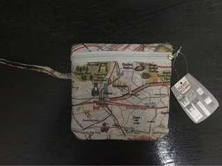 Tokyo Map Pocket Eco Bag