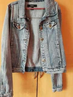 Denim Branded Jacket
