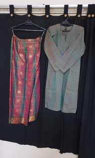 Baju Kurung Pahang kain songket