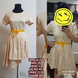 Assynetrical dress