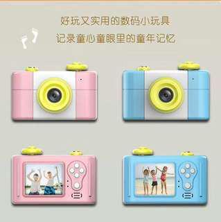 🚚 第三代兒童照相攝影機含記憶卡(粉色,藍色)