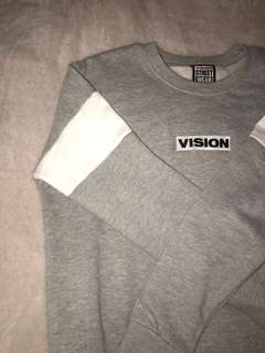 Grey Vision Jumper