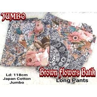 Piyama / Baju Tidur JUMBO FLOWERS - Katun Jepang CP