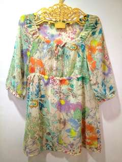 Esprit Floral Blouse (Preloved)