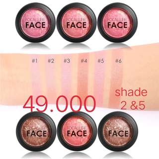 Baruuu.. Blush on Focallure baked blush shade 05 dan 02