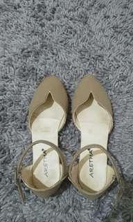 Flatshoes coklatmuda