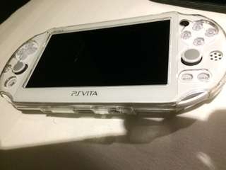 Ps vita model PCH 2000 white color