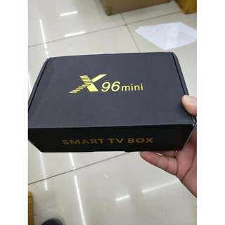x96mini smart tv box
