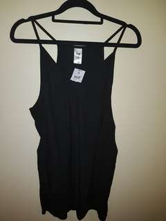 Kmart black top size 16