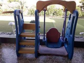 Swing and slide for kids