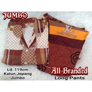 Piyama / Baju Tidur JUMBO ALL BRANDED - Katun Jepang CP