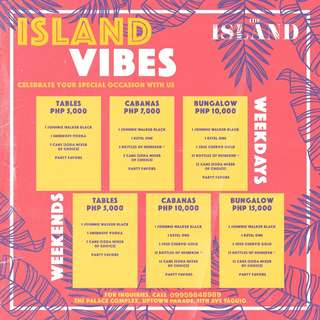 THE ISLAND VIBES PACKAGE