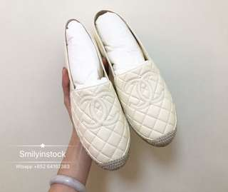 Chanel 漁夫鞋 38碼