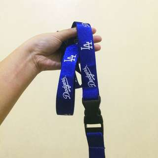 L.A Dodgers Lanyards