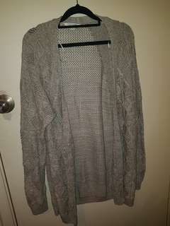 Jay Jay's knitted chunky cardigan size XL