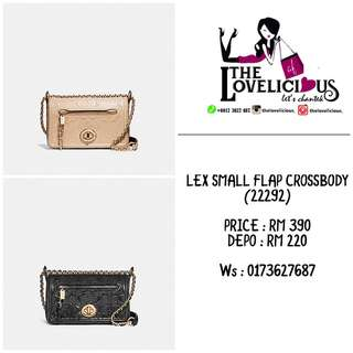 LEX SMALL FLAP CROSSBODY COACH F22292