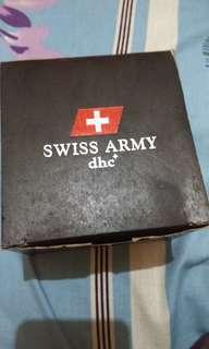 Jam tangan Swiss Army dhc+ SA 2277 MB