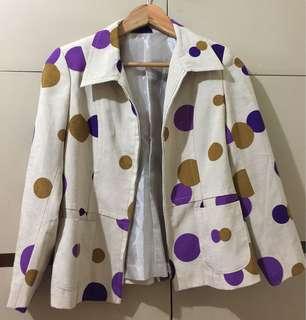 Jacket/ Blazer Polka Dot