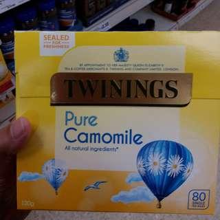 英國代購Twinings Pure Camomile 80pack 川寧純洋甘菊80包裝