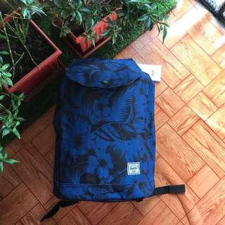 Original Herchel Jungle Floral Blue