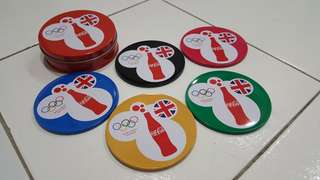Coca Cola Limited Edition Olympic Coaster