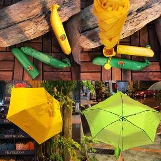 🇺🇸 BaBa~Banana 超療癒造型香蕉雨傘  兒童傘 個人傘 鮮豔 安全 方便攜帶