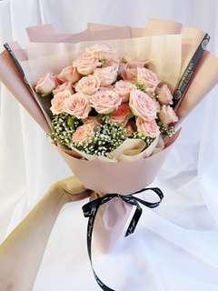 Spray rose Bouquet/ rose bouquet/ flower bouquet/ fresh flower bouquet