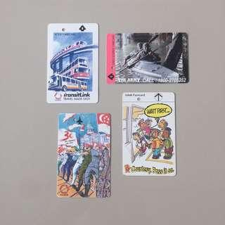 90s Transitlink Farecard (Vintage Collectibles)