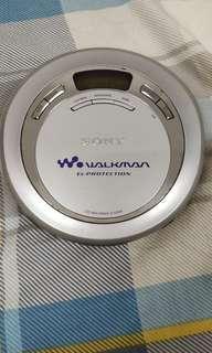 SONY D-E666 原装日本制造正常可常CD播放機