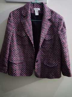Worthington blazer/coat