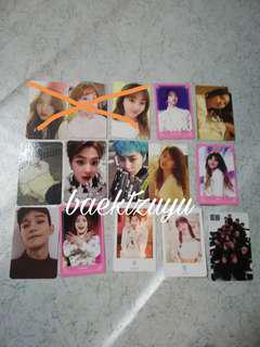 Twice & EXO clearance sales