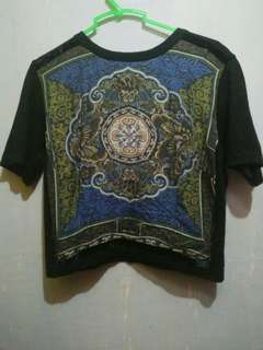 ETRO Milano Crop Top