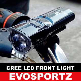 🚚 Bicycle / Scooter CREE-LED Front Light
