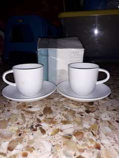 Expresso Coffee Cup With Saucer