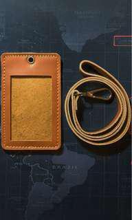 Nametag leather/kulit