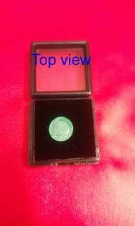 Certified Natural Green Columbian Emeralds Stone