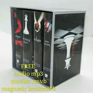 the twilight saga hardback boxed set