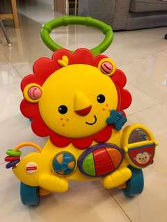 Fisher Price Baby Walker Lion