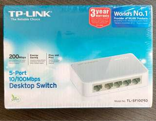 TP-Link desktop switch