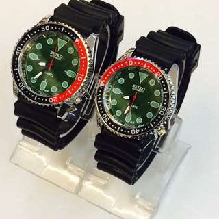 Seiko watch couple