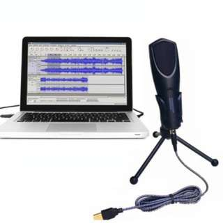 (624)Q3B Mini Professional Desktop Microphone with Tripod Stand